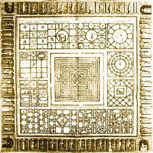 Labyrinthe aux 100 fleurs - L'historique du parc de loisirs