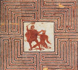 Labyrinthe aux 100 fleurs - Les labyrinthes dans l'histoire